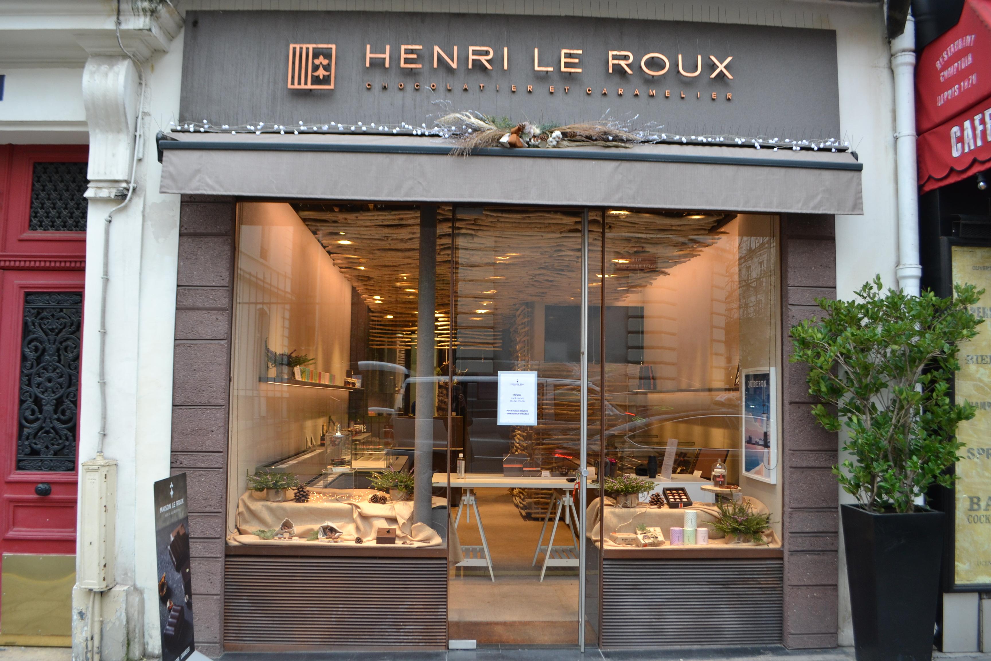 The Paris Saint-Dominique shop